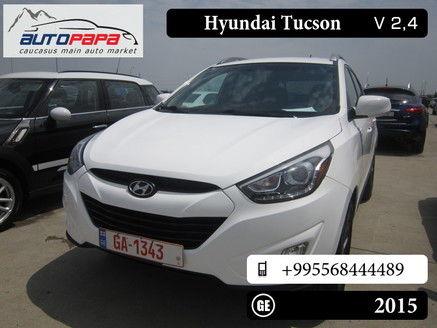 Hyundai Tucson, 32 500 GEL, 2015 (# 553823) — Autopapa